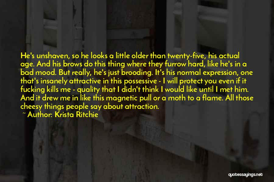 Magnetic Attraction Quotes By Krista Ritchie