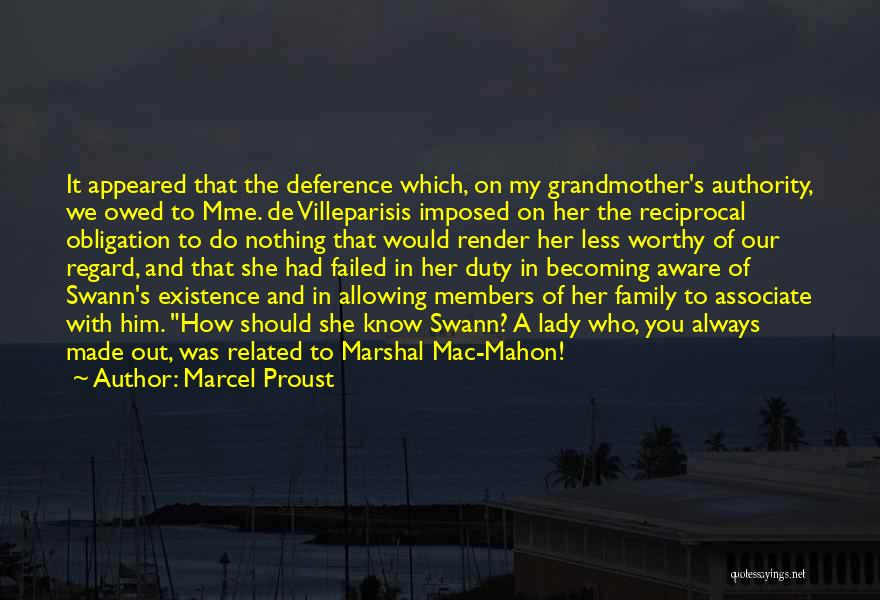 Mahon Quotes By Marcel Proust
