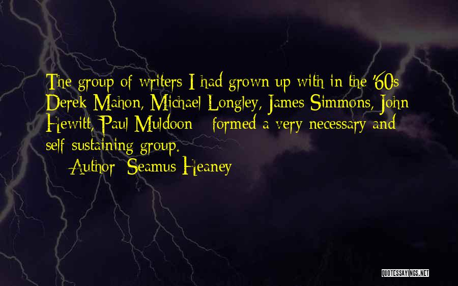 Mahon Quotes By Seamus Heaney