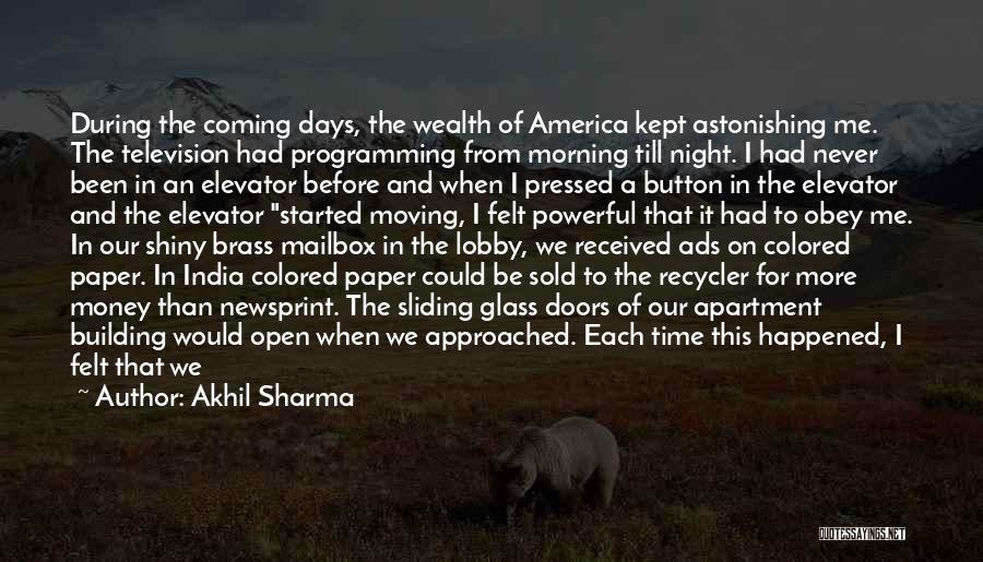 Mailbox Money Quotes By Akhil Sharma