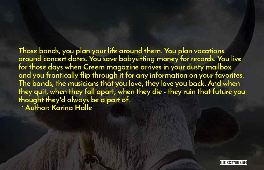 Mailbox Money Quotes By Karina Halle
