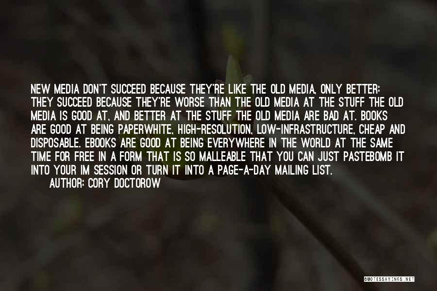 Mailing Quotes By Cory Doctorow