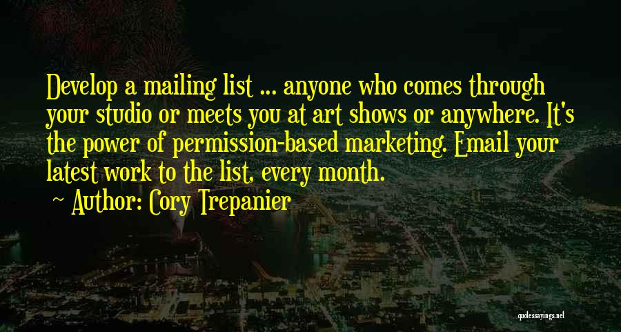 Mailing Quotes By Cory Trepanier