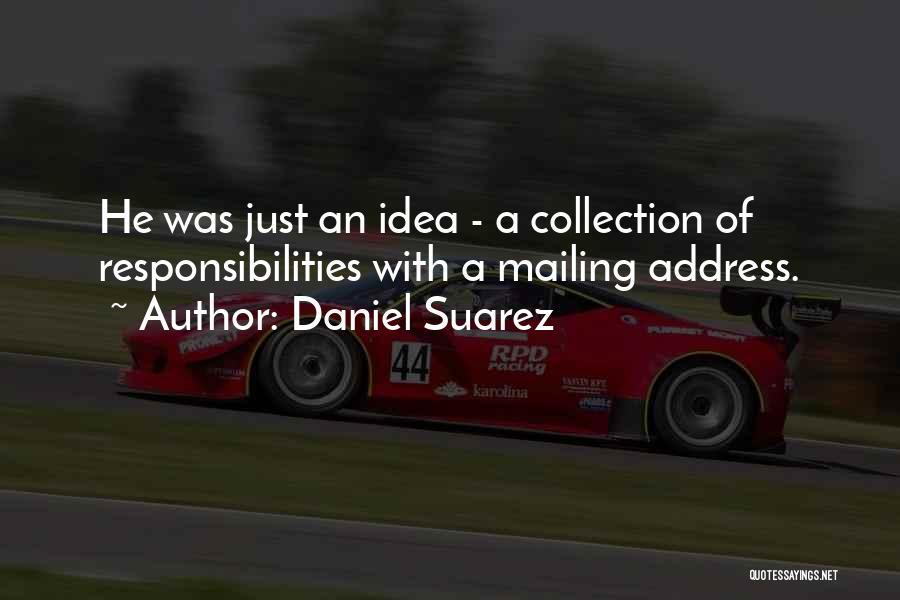 Mailing Quotes By Daniel Suarez