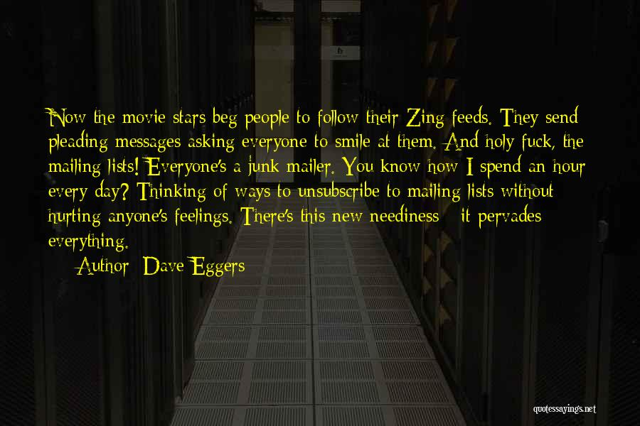 Mailing Quotes By Dave Eggers