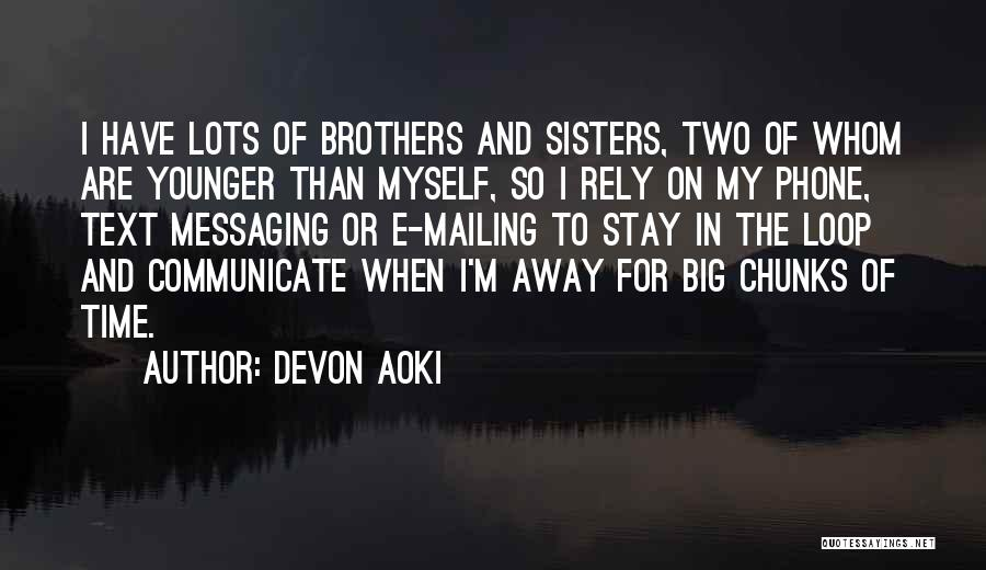 Mailing Quotes By Devon Aoki