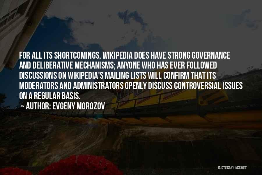 Mailing Quotes By Evgeny Morozov