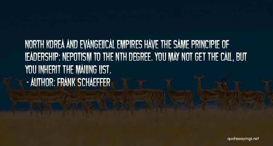 Mailing Quotes By Frank Schaeffer