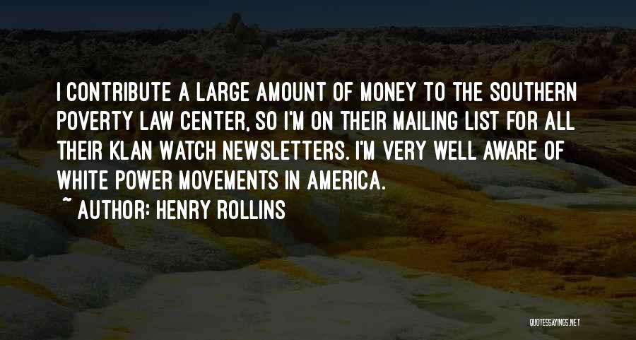 Mailing Quotes By Henry Rollins