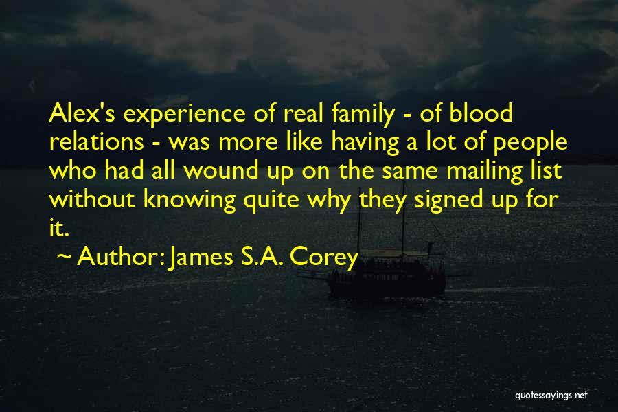 Mailing Quotes By James S.A. Corey
