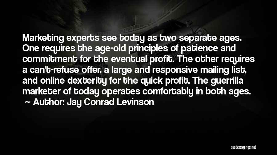Mailing Quotes By Jay Conrad Levinson