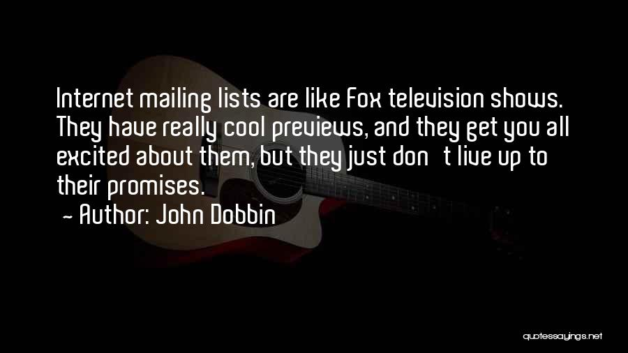 Mailing Quotes By John Dobbin