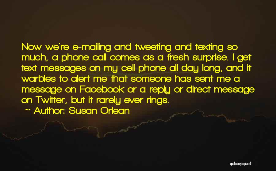 Mailing Quotes By Susan Orlean