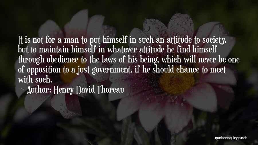 Maintain Attitude Quotes By Henry David Thoreau