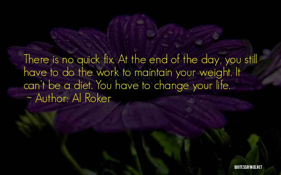 Maintain Weight Quotes By Al Roker