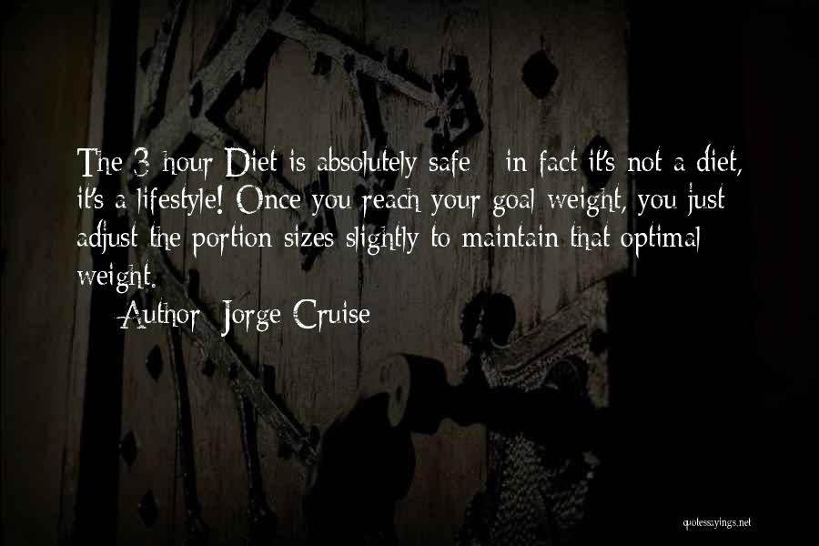 Maintain Weight Quotes By Jorge Cruise