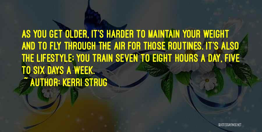 Maintain Weight Quotes By Kerri Strug