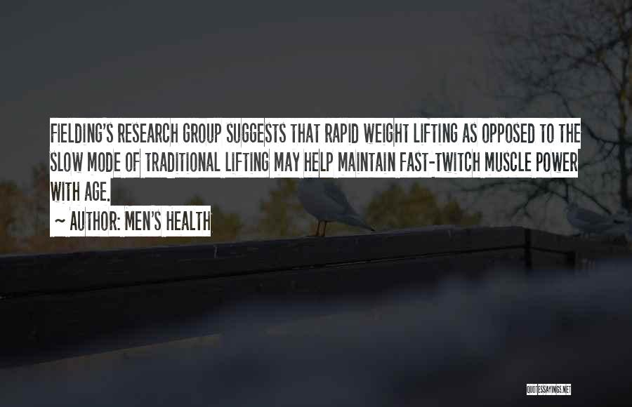 Maintain Weight Quotes By Men's Health