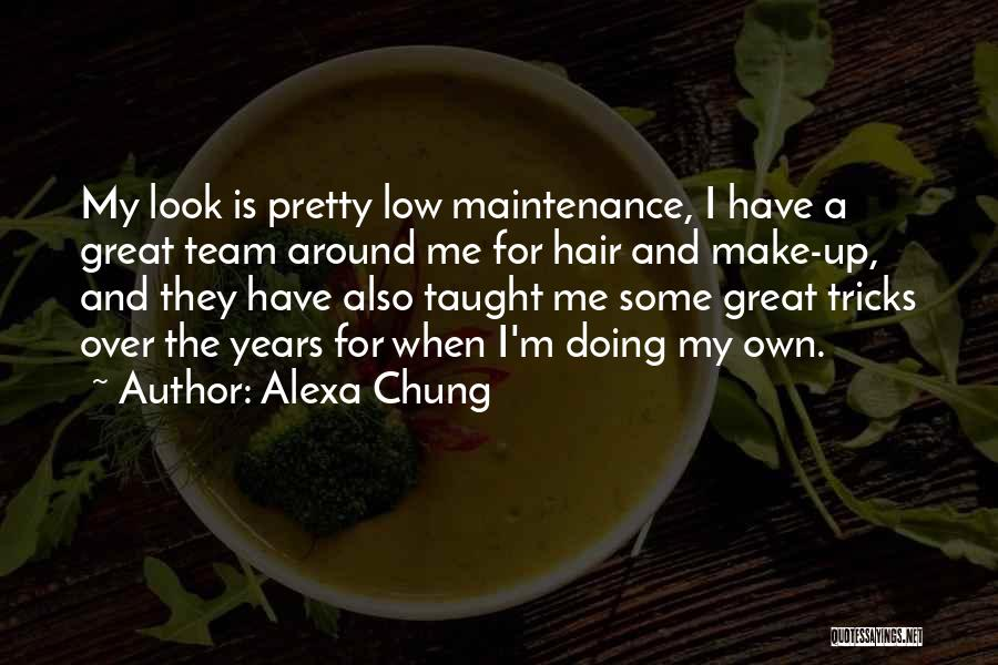 Maintenance Quotes By Alexa Chung