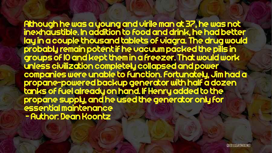 Maintenance Quotes By Dean Koontz