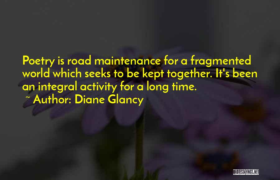 Maintenance Quotes By Diane Glancy