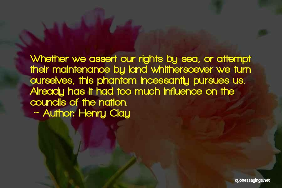 Maintenance Quotes By Henry Clay