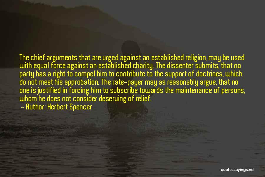 Maintenance Quotes By Herbert Spencer