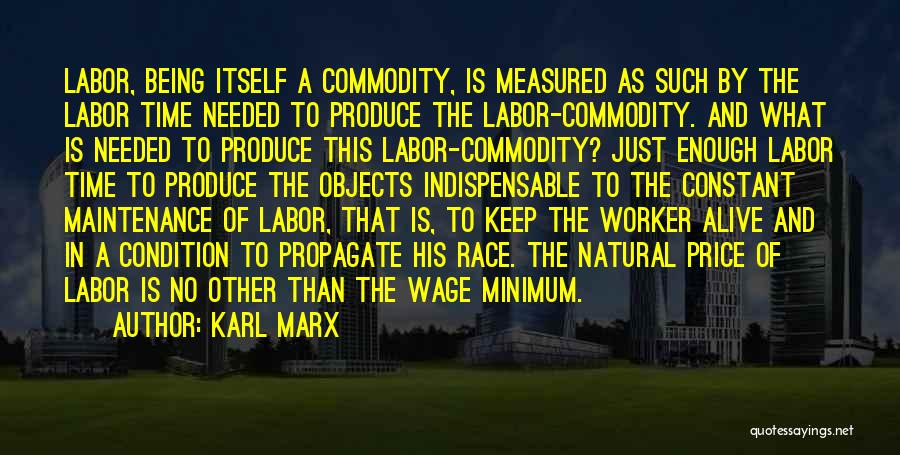 Maintenance Quotes By Karl Marx