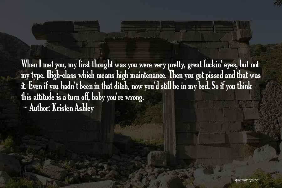 Maintenance Quotes By Kristen Ashley