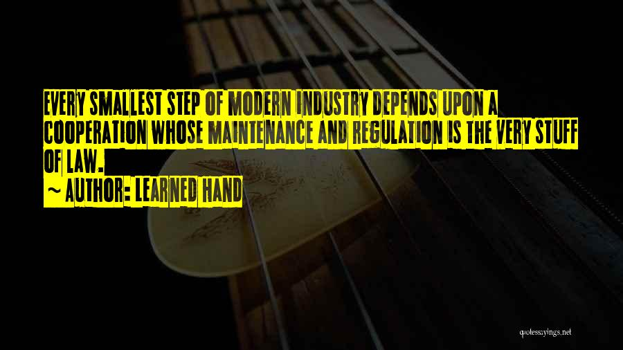 Maintenance Quotes By Learned Hand