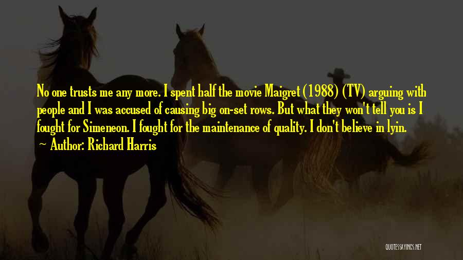 Maintenance Quotes By Richard Harris