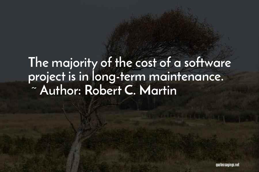 Maintenance Quotes By Robert C. Martin
