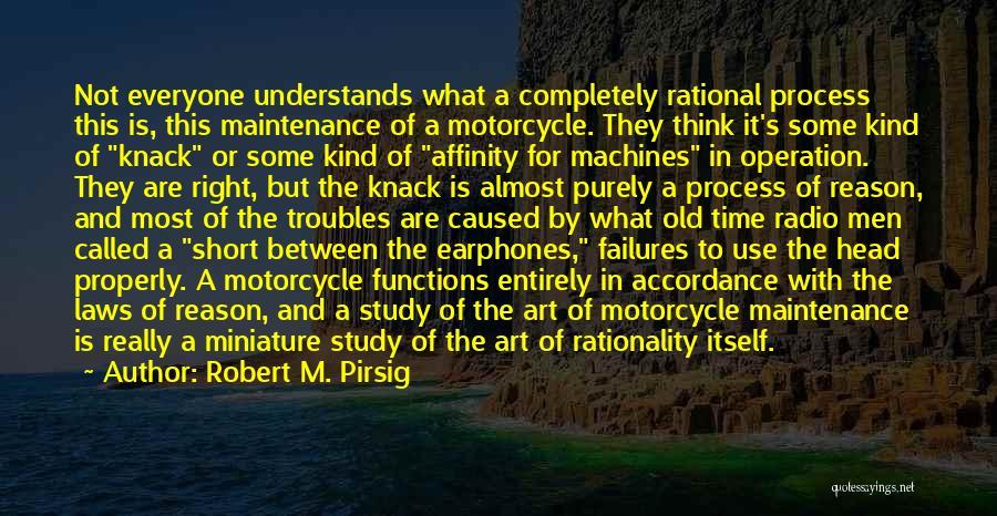 Maintenance Quotes By Robert M. Pirsig