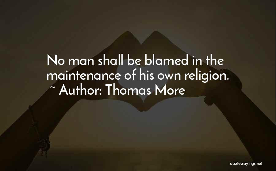 Maintenance Quotes By Thomas More