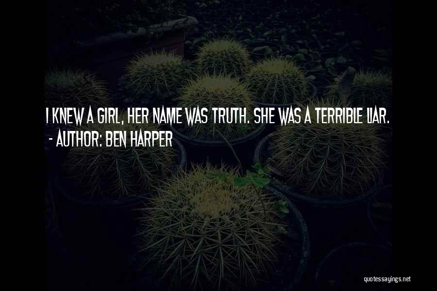 M'aiq The Liar Best Quotes By Ben Harper