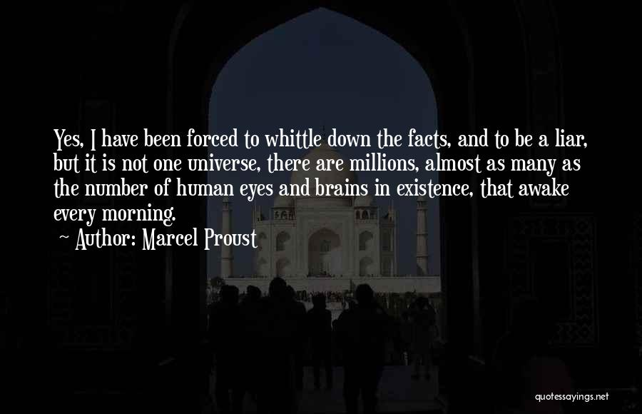M'aiq The Liar Best Quotes By Marcel Proust