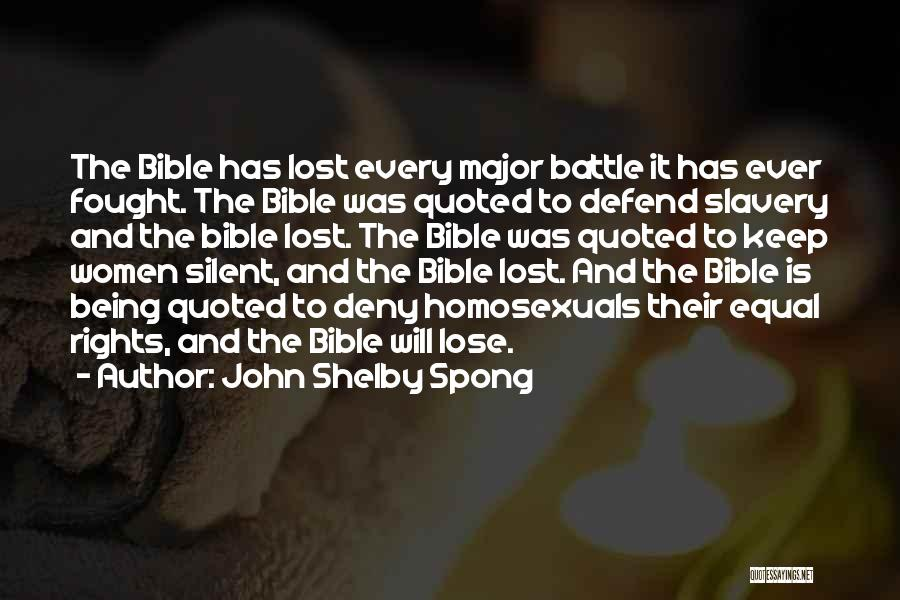 Major Bible Quotes By John Shelby Spong