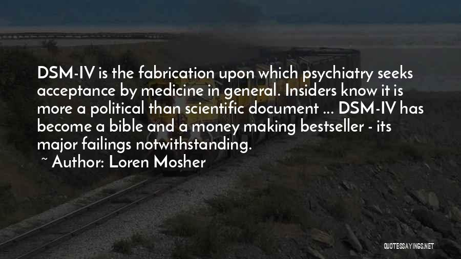 Major Bible Quotes By Loren Mosher
