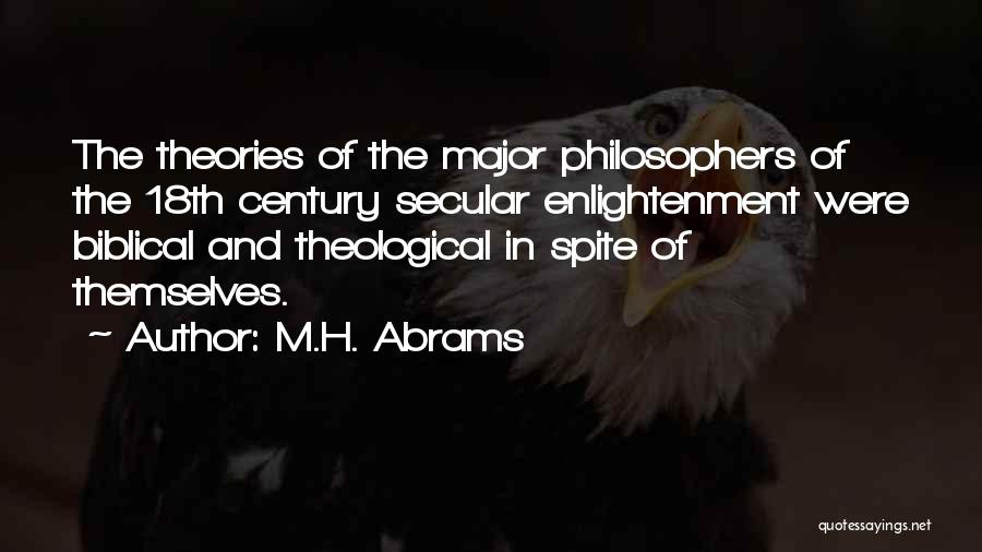 Major Bible Quotes By M.H. Abrams