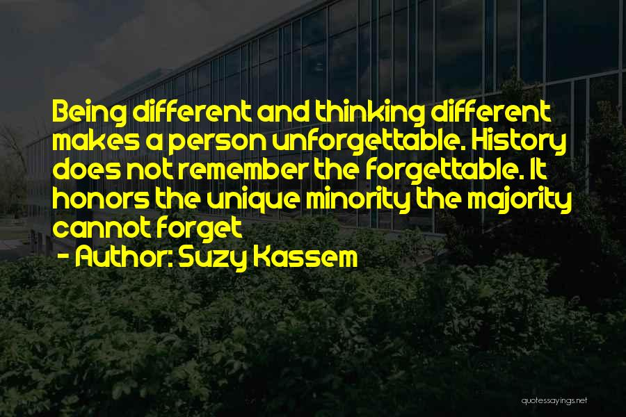 Majority Over Minority Quotes By Suzy Kassem
