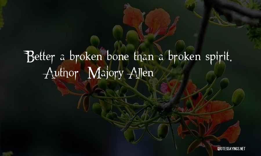 Majory Allen Quotes 885592