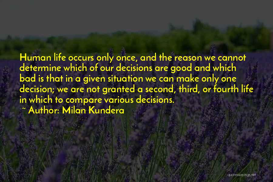 Make Best Bad Situation Quotes By Milan Kundera