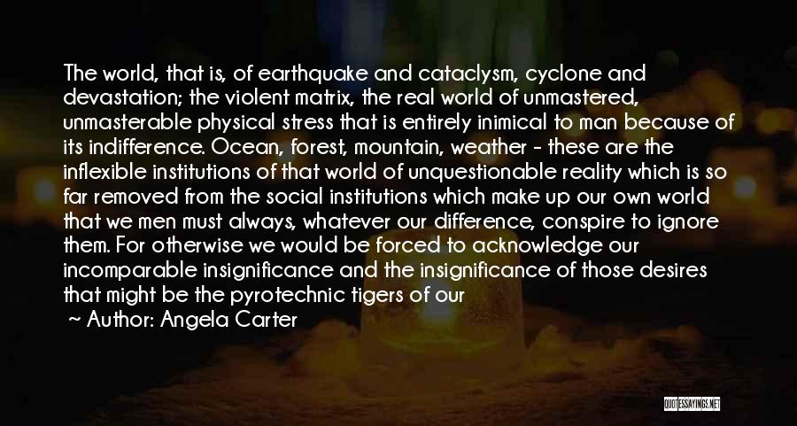 Make Difference Quotes By Angela Carter