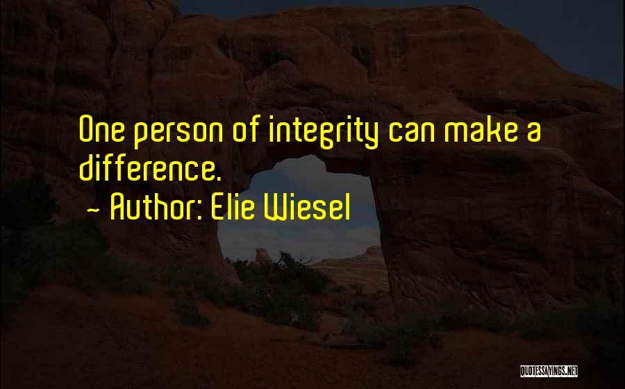 Make Difference Quotes By Elie Wiesel