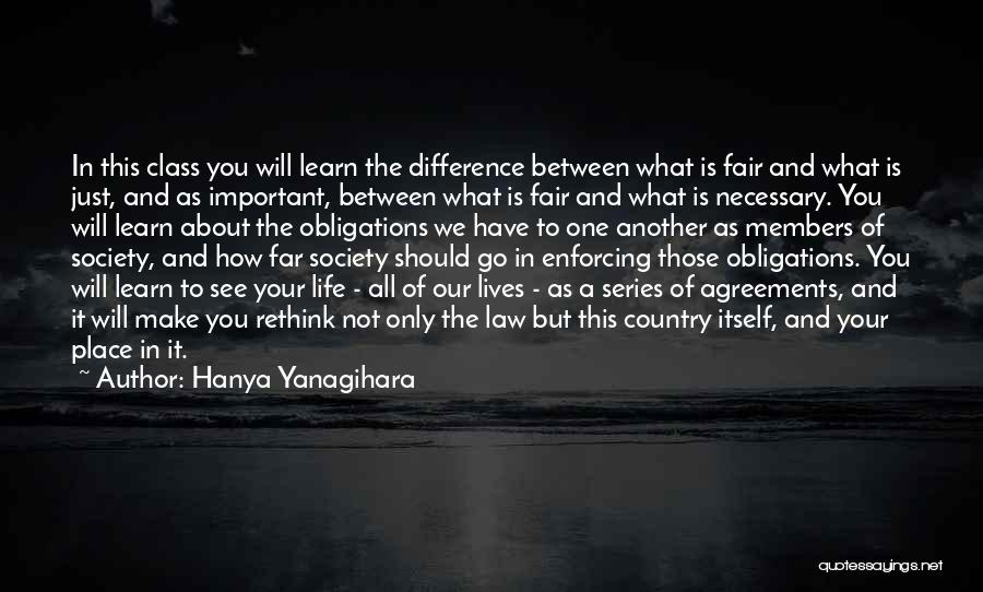 Make Difference Quotes By Hanya Yanagihara