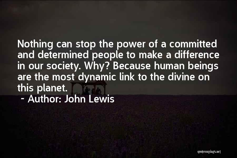 Make Difference Quotes By John Lewis