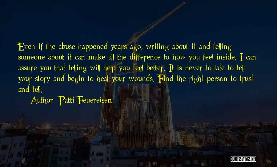 Make Difference Quotes By Patti Feuereisen