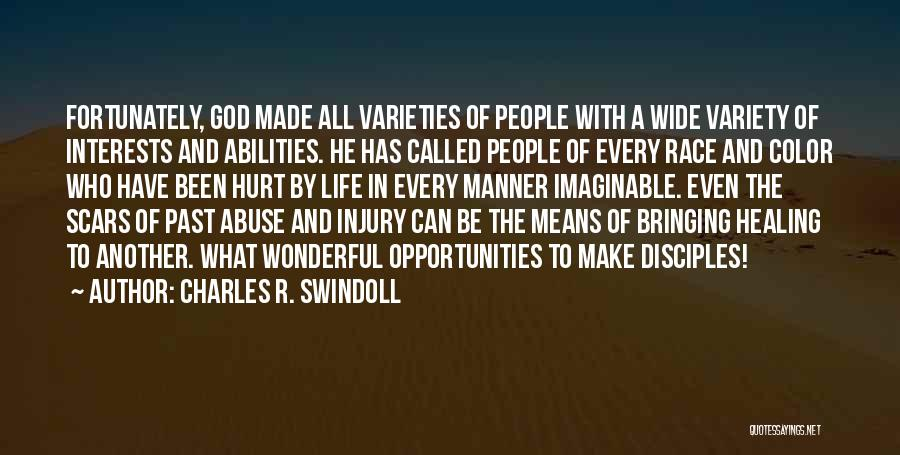Make Disciples Quotes By Charles R. Swindoll