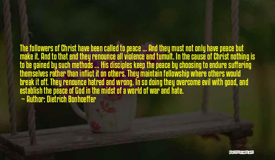 Make Disciples Quotes By Dietrich Bonhoeffer