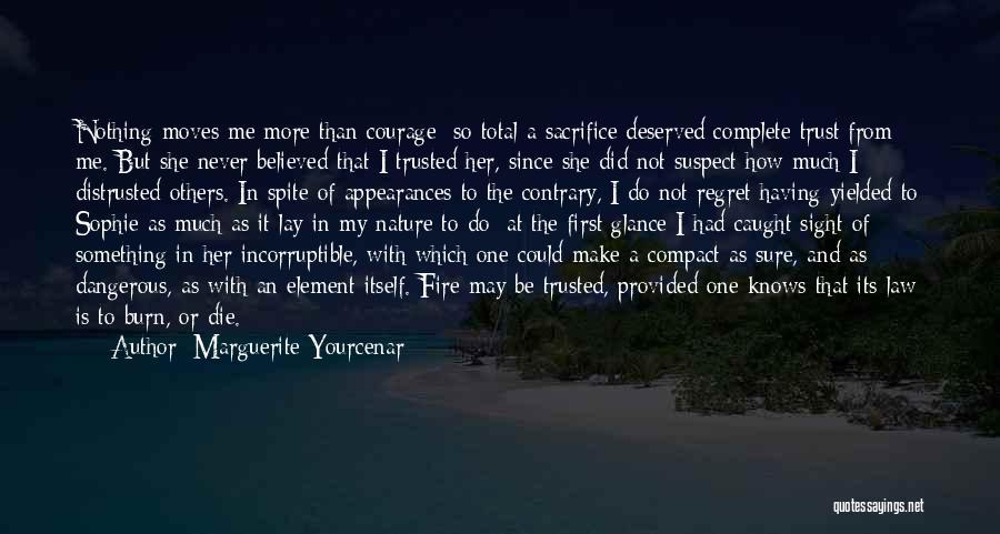 Make Him Regret Quotes By Marguerite Yourcenar